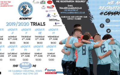 ACADEMY TRIALS INFO 2019/2010